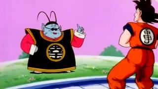 Goku meets King Kai