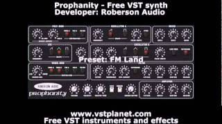 Prophanity - Free VST synth - vstplanet.com