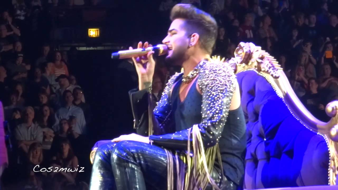 Adam Lambert With Queen : queen adam lambert killer queen chicago 6 19 14 youtube ~ Vivirlamusica.com Haus und Dekorationen
