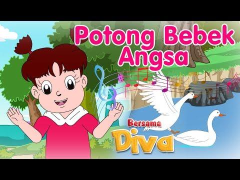 Potong Bebek Angsa  | Lagu Anak Indonesia