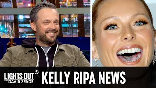 Kelly Ripa's Surprising Plastic Surgery (feat. Nate Bargatze)  - Lights Out with David Spade