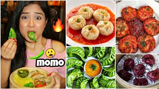 I only ate spicy MOMOS for 24 HOURS | Nil & Situ Vlogs