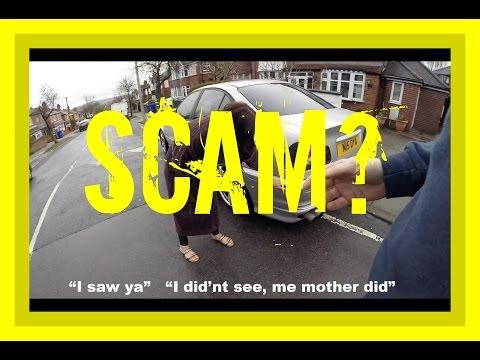 Trucker Jay in the UK: Insurance fraud? false claim?