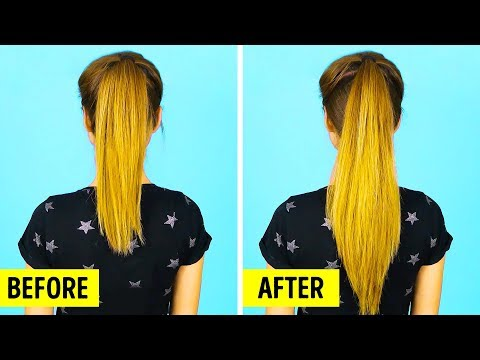 25 ONE-MINUTE HAIRSTYLING HACKS EVERY GIRL SHOULD KNOW