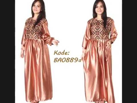 Model Baju Batik Muslim Modern Model Baju Gamis Batik Modern Youtube