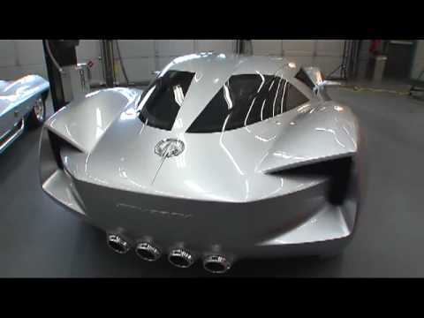 Corvette Stingray Concept Design Overview - YouTube