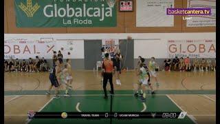 U12M - TRAVEL TEAM vs UCAM MURCIA.- Torneo MARCA La Roda U12 Future Stars 2021