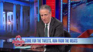Arby's to Jon Stewart  Thank You for jimmy sommers