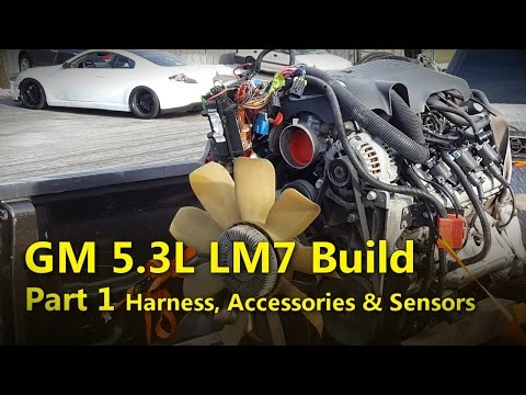 LS 5.3L Build Part 1 Harness & Accessory Removal | Project Rowdy Ep005