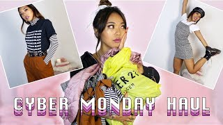 AFFORDABLE CYBER MONDAY FOREVER 21 TRY ON HAUL! | Fashion | Nava Rose