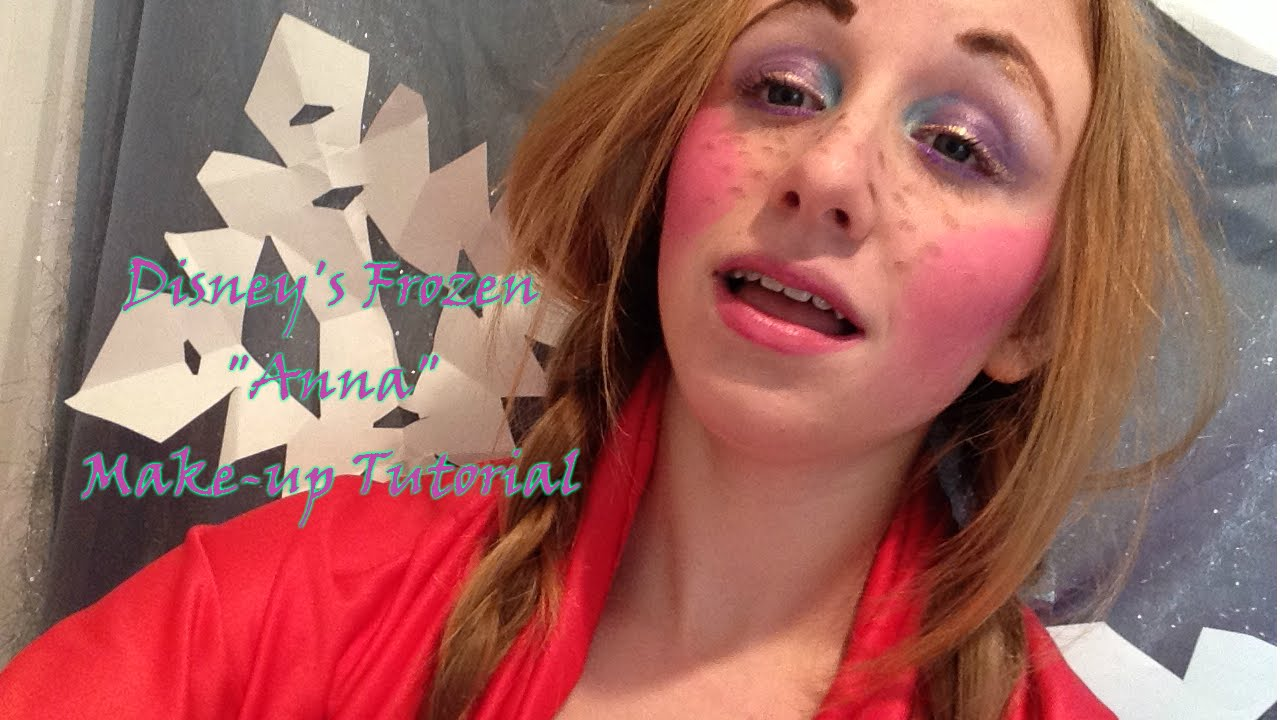 Frozen anna makeup tutorial youtube baditri Image collections