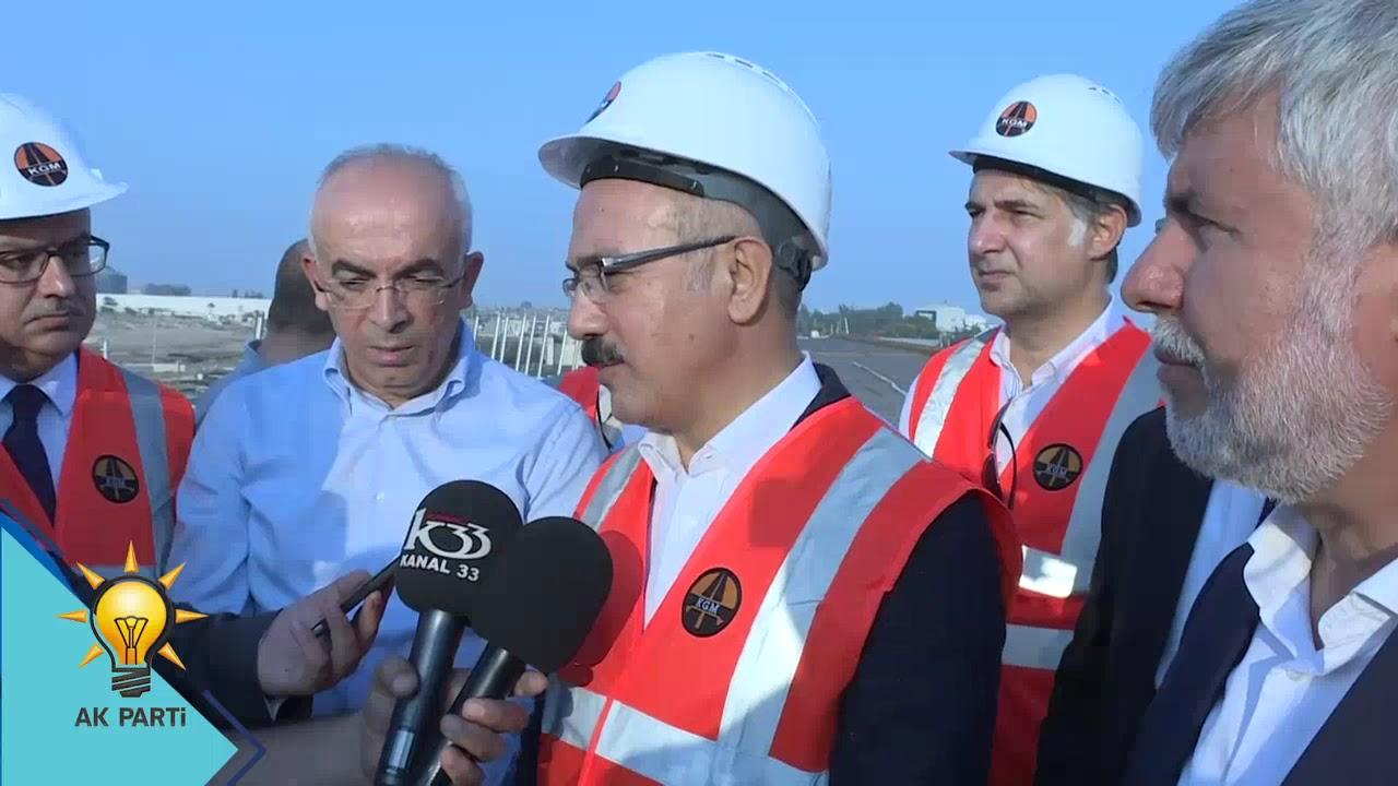 Mersin'e Yapılan Karayolları Yatırımları
