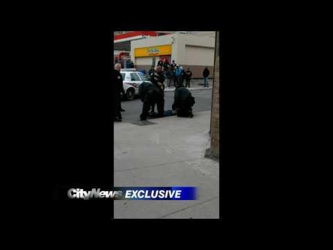 Video: Police arrest and Taser suspect after female cop allegedly assaulted