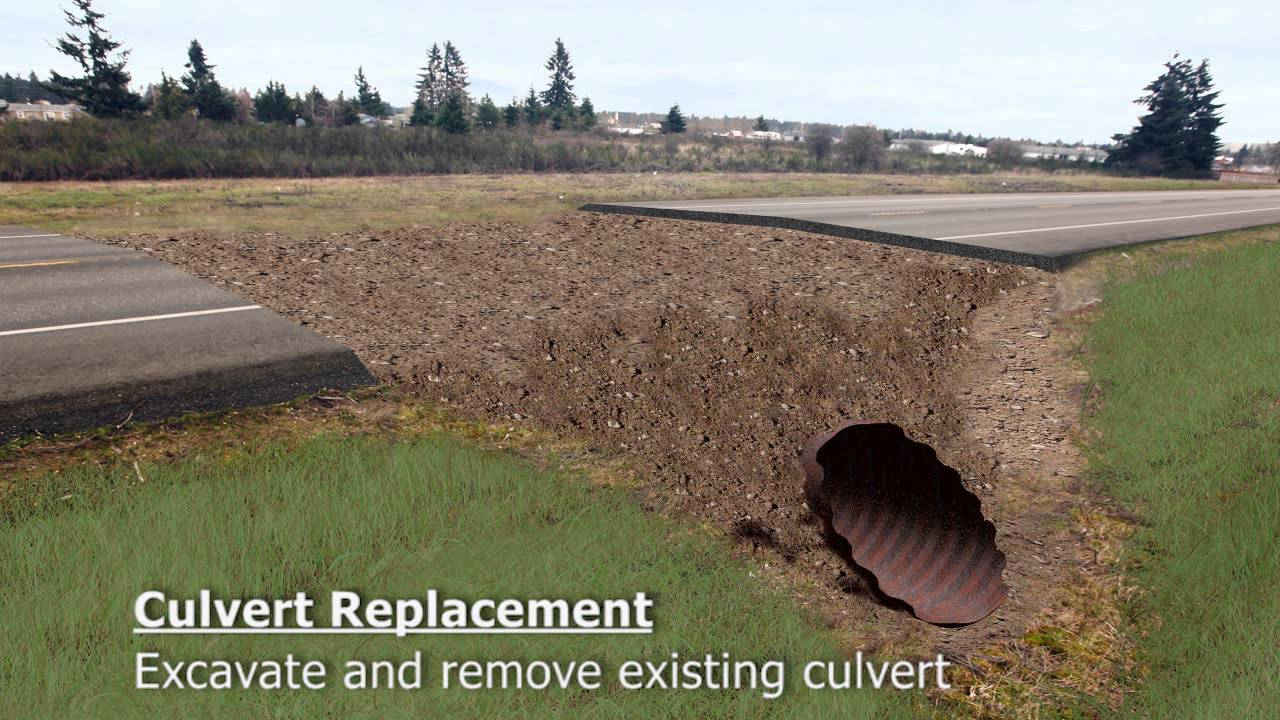 culvert replacement youtube