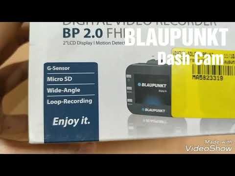 BLAUPUNKT DASH CAM 2.0 | Digital Video Recorder | Car Dash Camera | Best Dash Camera For Car | Unbox