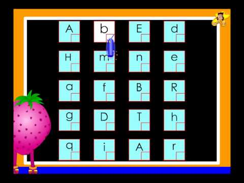 Kindergarten - capital and small letters (upper case & lower case ...