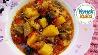 Türlü Yemeği Nasıl Yapılır   Sebzeli Yaz Türlüsü Tarifi Yemek Tarifleri