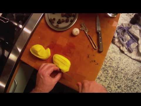 Perlhuhn mit Trüffel im Kartoffelfond nach einem Rezept von Chefkoch Thomas Sixt zubereiten Teil 1