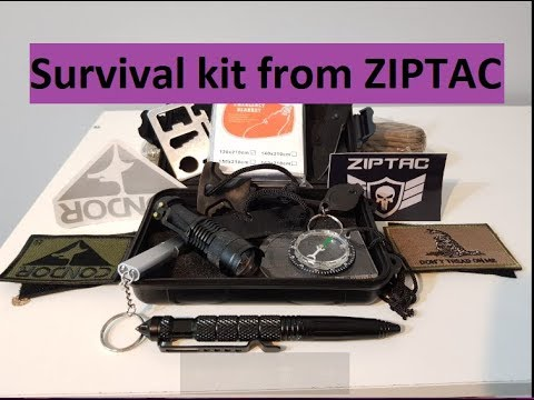 Survival kit from ZIPTAC