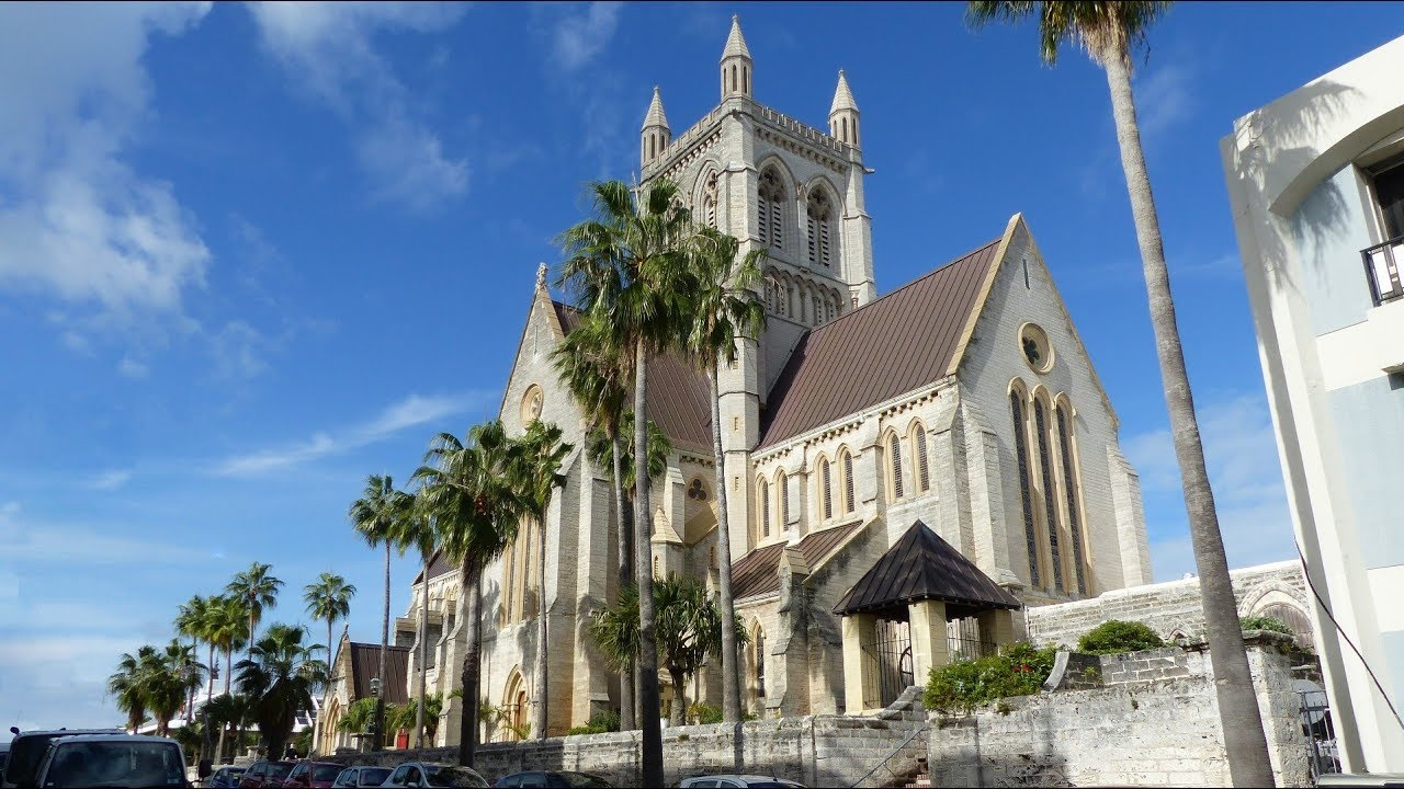 CATHEDRAL OF THE MOST HOLY TRINITY - CITY OF HAMILTON - BERMUDA