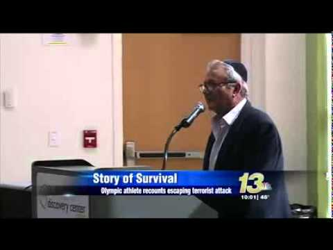 1972 Munich Massacre Survivor Tells Tale at Chabad