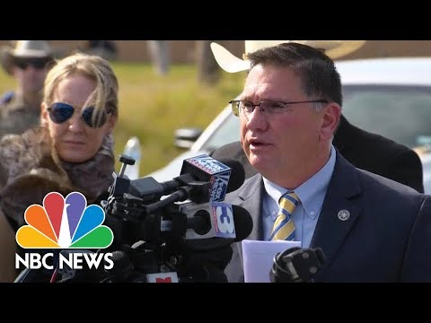 Texas Rangers: Intent Of Church Shooter Devin Patrick Kelley Linked To Domestic Situation | NBC News
