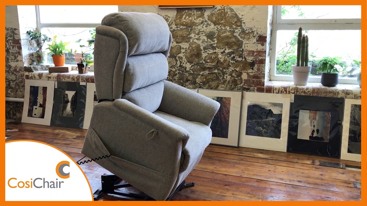 Valency Riser Recline Chair by Cosi Chair YouTube