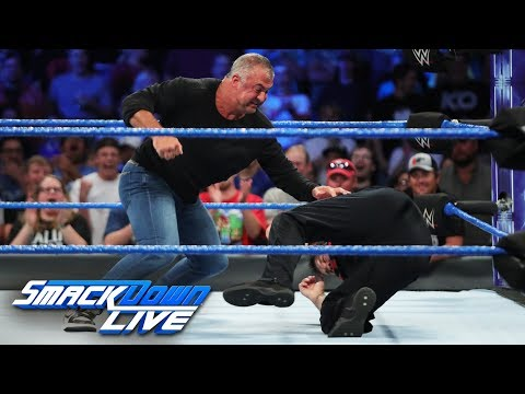 Shane McMahon attacks Kevin Owens: SmackDown LIVE, Sept. 5, 2017