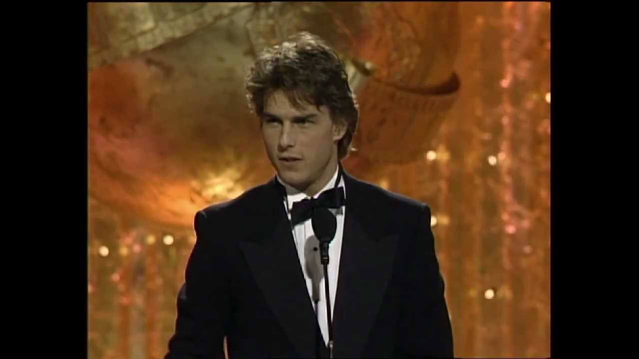 Tom Cruise Wins Best Actor Motion Picture