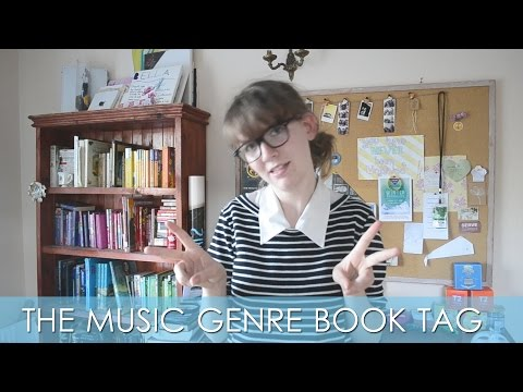 FANGIRL FRIDAY - Music Genre Book Tag