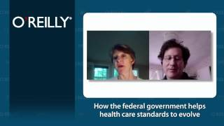How the federal government helps health care standards to evolve