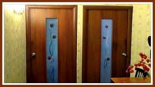 видео Самый простой способ устранения усадки межкомнатной двери