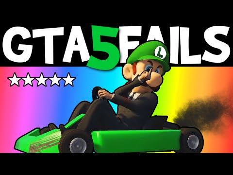 GTA 5 FAILS – EP. 29 (GTA 5 Funny Moments Compilation Online Grand Theft Auto V Gameplay)