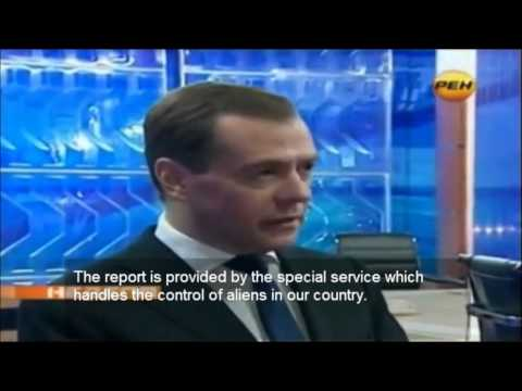 Medvedev talks about aliens on Earth! (English Subs)