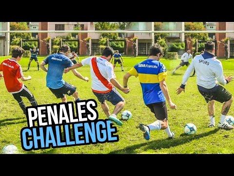 PENALES CHALLENGE con Sebastian Fernandez   LOS DISPLICENTES