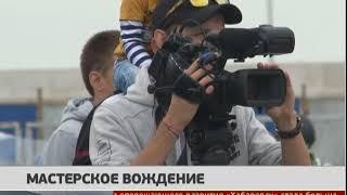 Соревнования по Мото-джимхане прошли в Хабаровске. Новости 18/06/2018. GuberniaTV