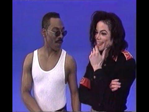 Michael Jackson - 1993 Behind Scenes of 'Whatzupwitu' with Eddie Murphy