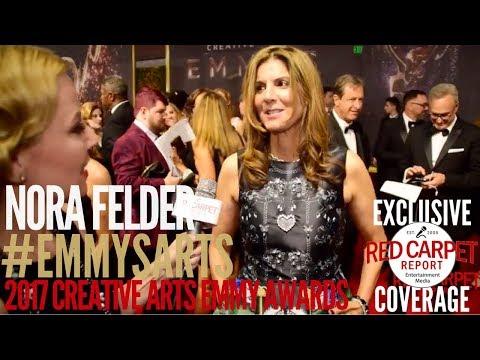 Nora Felder, Music Supervisor #StrangerThings interviewed at the 2017 Creative Arts Emmys Red Carpet