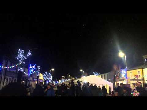Cockermouth Cande light 2015 Sky Tracker & Snow Machine