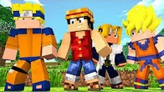 Minecraft  TROCA   DESENHO E ANIME   Lucky Block PvP ‹ Ine ›