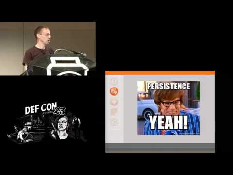 DEF CON 23 - Gregory Picket - Staying Persistent in Software Defined Networks