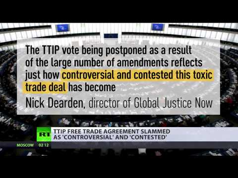 'Controversial & contested': TTIP free trade agreement faces criticism across Europe