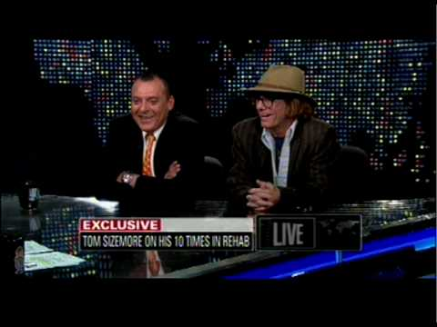 Tom Sizemore talks about his new movie CELLMATES (previously White Knight) on Larry King Live
