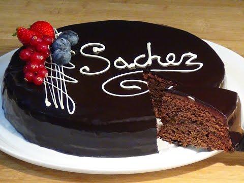 Receta Tarta Sacher - Recetas de cocina, paso a paso, tutorial