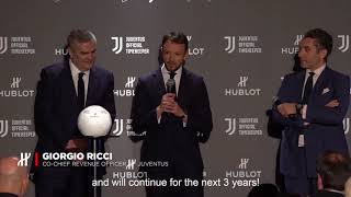 Hublot presents its new chronograph dedicated to the juventus club