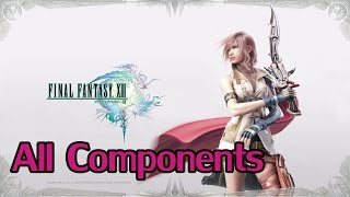 Final Fantasy XIII (PC) - Max All Components