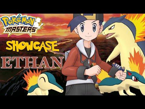 Pokemon Masters - Ethan & Cyndaquil FULL Showcase ( Story, Evolutions & Gameplay )