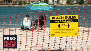 News Wrap: Florida reports 1,300 new coronavirus cases