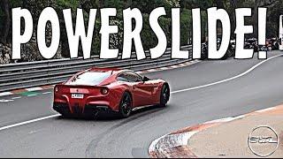 Powerslides & Burnouts: Supercars of Monaco 2015!