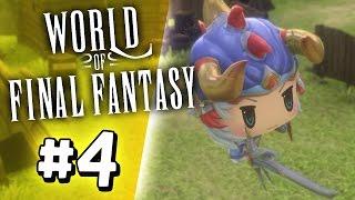 WORLD OF FINAL FANTASY: Warrior of Light